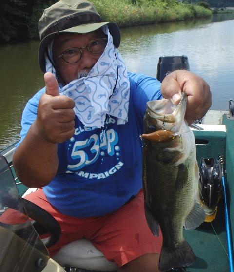 その729 至って健康、バス釣りが好き!