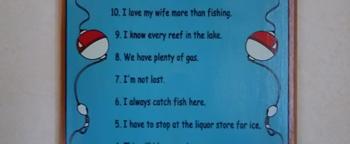 No.7  Top ten fishing lies
