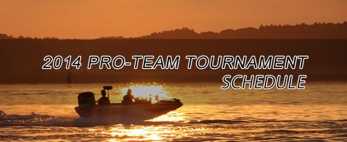 2014 PRO-TEAM トーナメント 日程